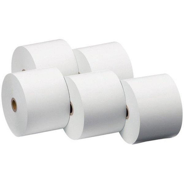 クリエイティア レジ用サーマル 感熱ロール紙 中保存 5巻 SR5880-H(5) (直送品)