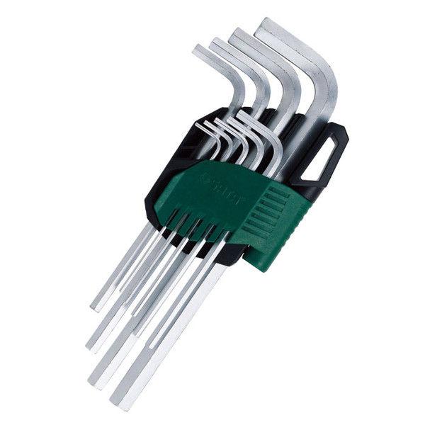 9pc メタリックエクストラロング六角キーセット RS-09103A SATA Tools (直送品)