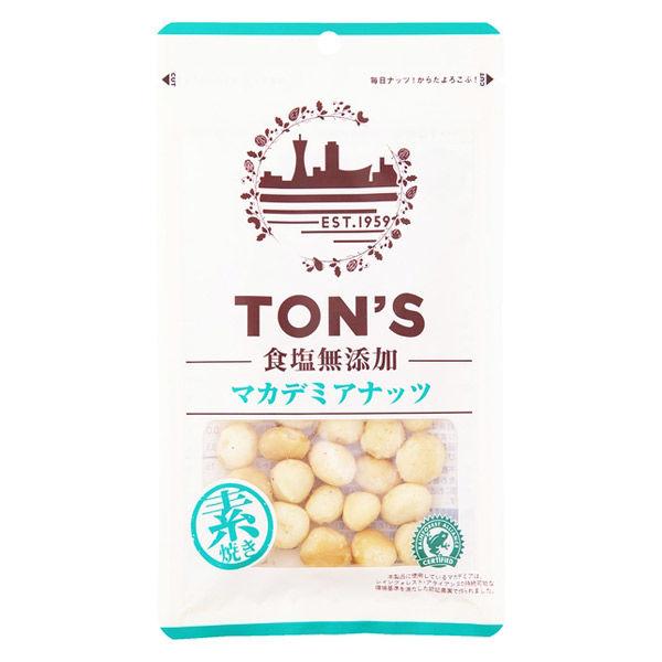 東洋ナッツ 食塩無添加マカデミア 1袋