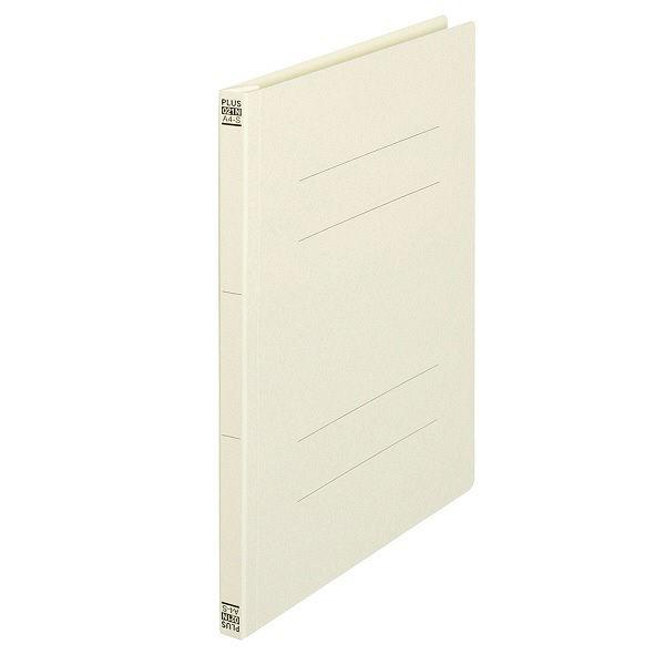 プラス フラットファイル A4Sアイボリー100冊 No.021N(直送品)