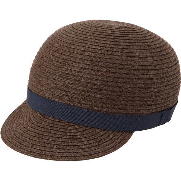 無印 ブレードつば付帽子 ベビー54cm