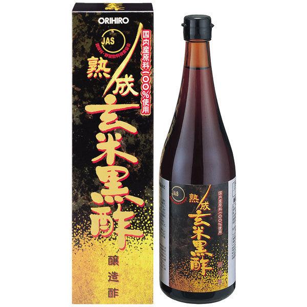 熟成玄米黒酢(JAS) 720ml