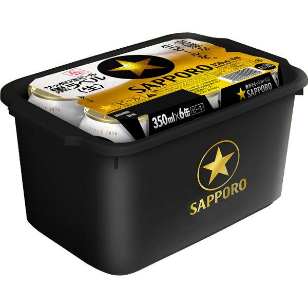 黒ラベル350ml6缶P ボックス景品付