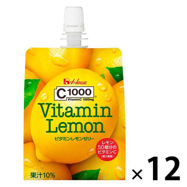 ハウス C1000 ビタミンレモンゼリー