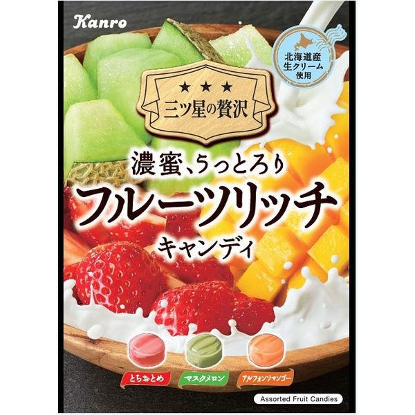 カンロ フルーツリッチキャンディ 1袋