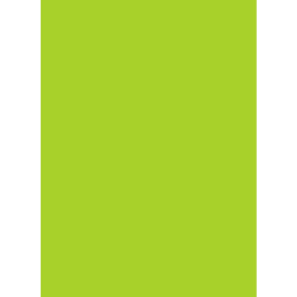 ササガワ 艶紙 黄緑 31-107 100枚(10枚袋入×10冊袋入) (取寄品)