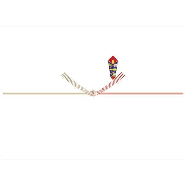 ササガワ のし紙 A3判 五本結切 山 3-480 500枚(100枚袋入×5冊包) (取寄品)
