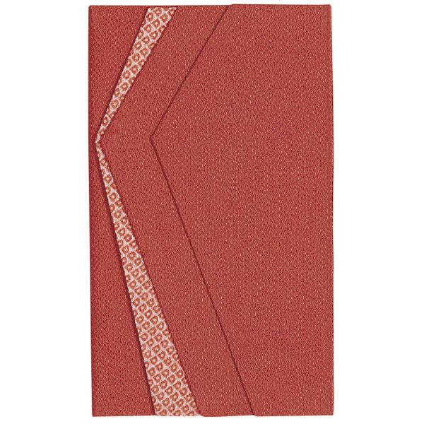 ササガワ 金封ふくさ 色彩ちりめん 赤 祝用 44-1210 5枚(1枚袋入×5枚箱入) (取寄品)