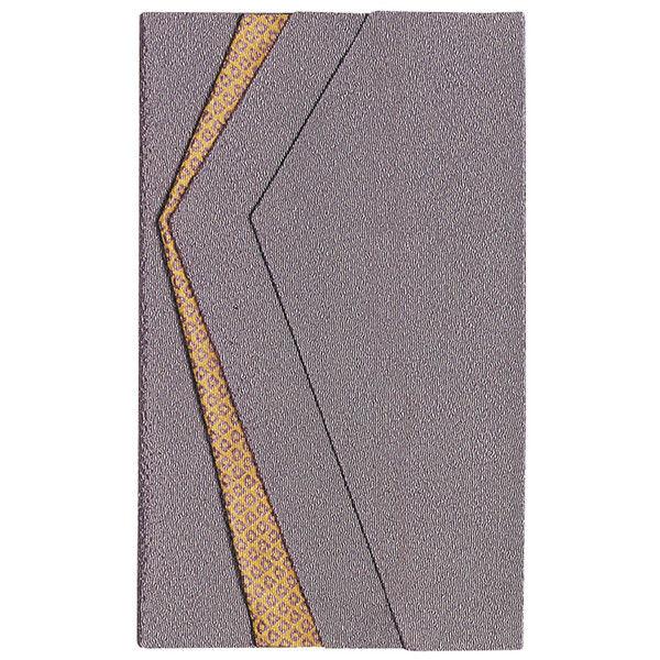 ササガワ タカ印 金封ふくさ 色彩ちりめん 紫 兼用 44-1212 5枚(1枚袋入×5枚箱入) (取寄品)