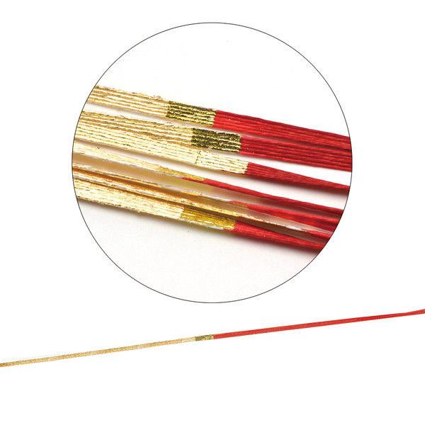 ササガワ タカ印 水引 金赤15 44-215 100本(100本包装) (取寄品)