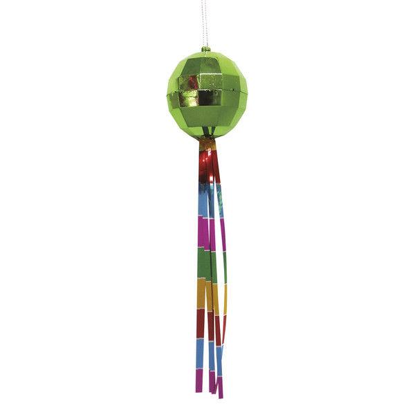 ササガワ 七夕飾り ボール吹流し緑 46-7143 5個(1個袋入×5個袋入) (取寄品)