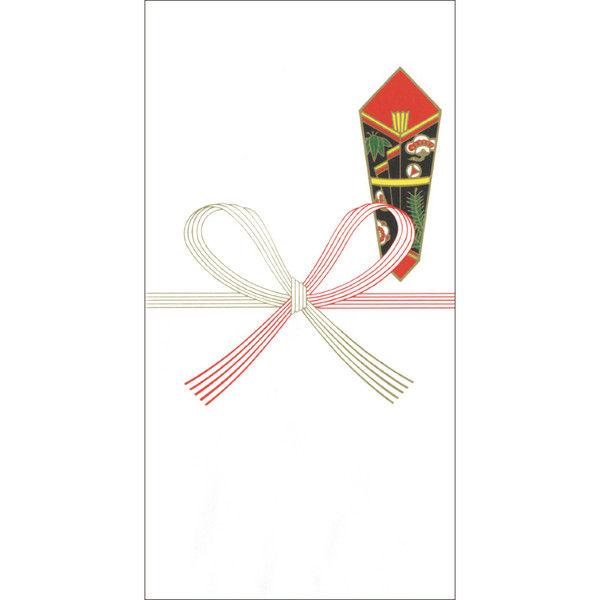 ササガワ タカ印 のし袋 千型 祝 無字 仙貨紙 5-1508 400枚(10枚袋入×40冊箱入) (取寄品)
