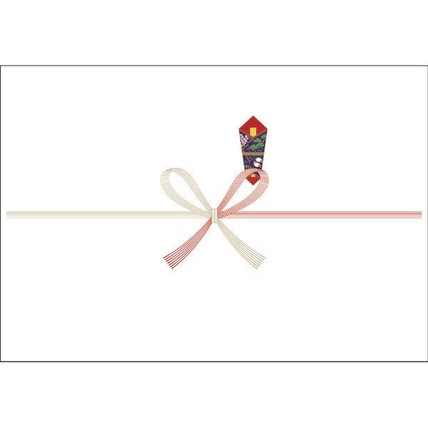 ササガワ タカ印 のし紙 中杉判 祝 美 1-2 500枚(100枚袋入×5冊包) (取寄品)