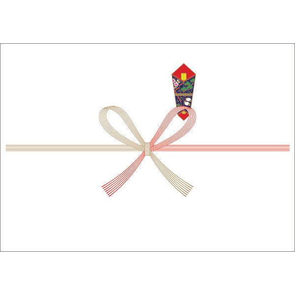 ササガワ のし紙 A5判 祝 山 3-409 500枚(100枚袋入×5冊包) (取寄品)