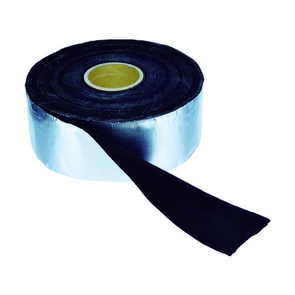 トラスコ中山(TRUSCO) TRUSCO アルミ箔耐炎フェルトテープ 厚み2mmX幅95mmX長さ19m TFA-21020 855-1533(直送品)