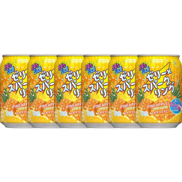 ぷるっシュ!!パイン 280g 6缶