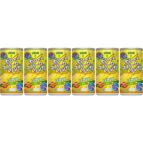ぷるっシュ!! レモン 190g 6缶