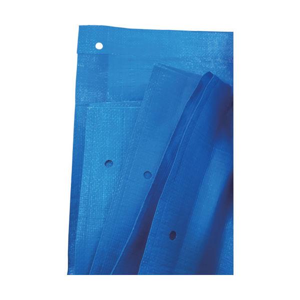 旭産業 アサヒ ブルーシート #3000 ノンメタルハトメ 10mX10m BS-NA1010 1枚 855-2175(直送品)