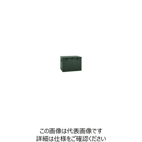 アルインコ(ALINCO) アルインコ 万能アルミ製BOX ODグリーン色 BXA065GR 1台 835-7656(直送品)