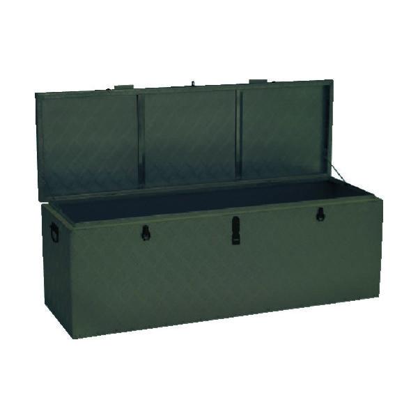 アルインコ(ALINCO) アルインコ 万能アルミ製BOX ODグリーン色 BXA135GR 1台 835-7657(直送品)