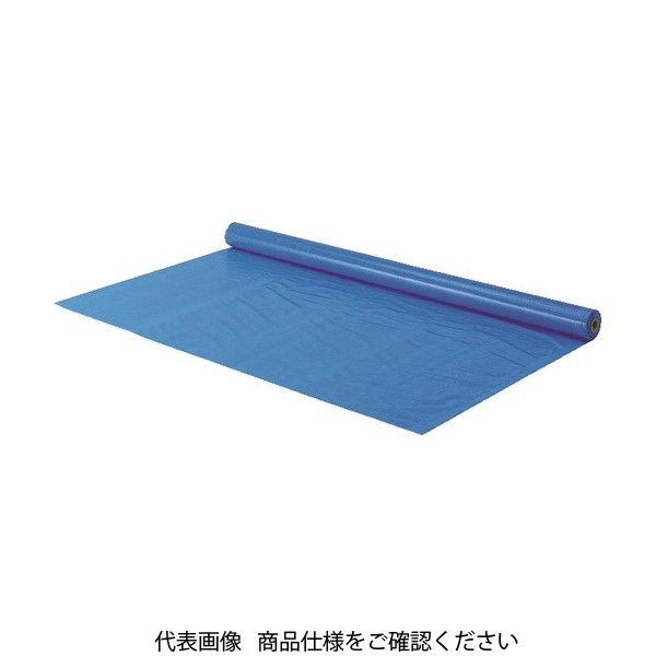 トラスコ中山(TRUSCO) TRUSCO 防炎シートα軽量 ブルー ロールタイプ幅1.8mX長さ50.0m GBSRA-B 855-8065(直送品)
