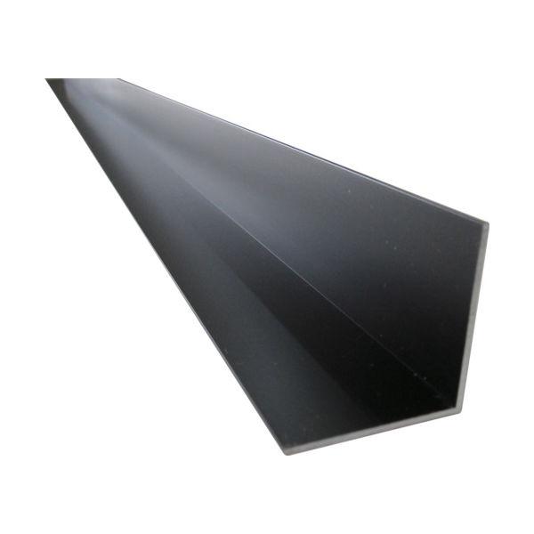 アルインコ(ALINCO) アルインコ アルミ等辺アングル 30x30x1.2ブラック 2m HP204K 1本 836-6513(直送品)