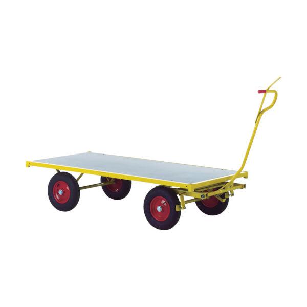 RAVENDO 大型重量運搬車 TW2000 穴ありハンドル 144104 1台 836-7729(直送品)