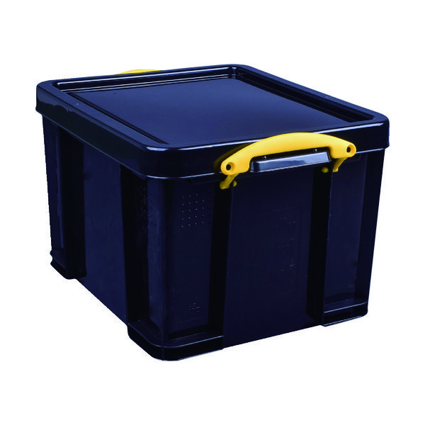 RUP コンテナ Really Useful Box 35L ブラック 35BLK 1個 856-2756(直送品)