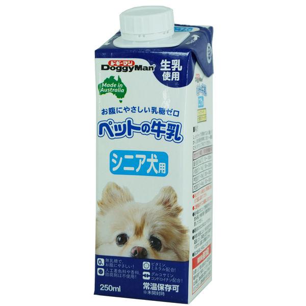 ドギーマンペットの牛乳 シニア犬用