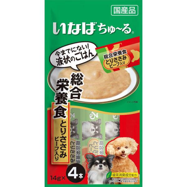 チャオちゅ~る総合栄養食ささみビーフ犬用