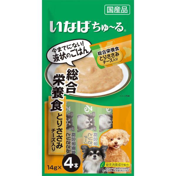 チャオちゅ~る総合栄養食ささみチーズ犬用
