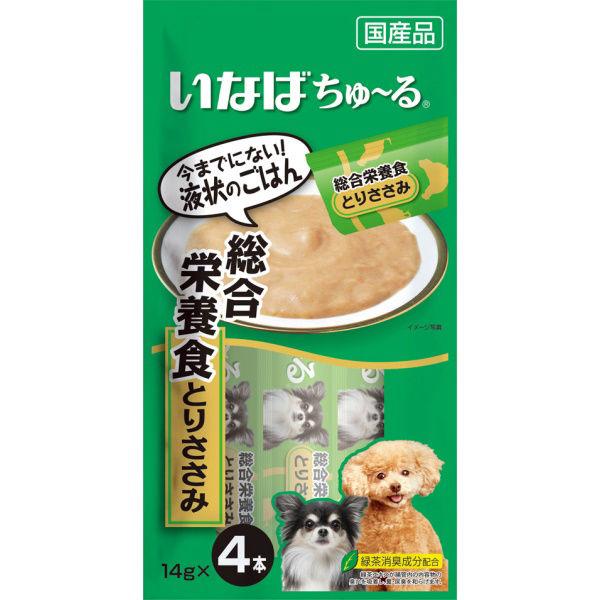 チャオちゅ~る総合栄養食とりささみ犬用