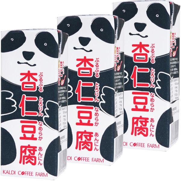 パンダ杏仁豆腐ミニ 215g 3個