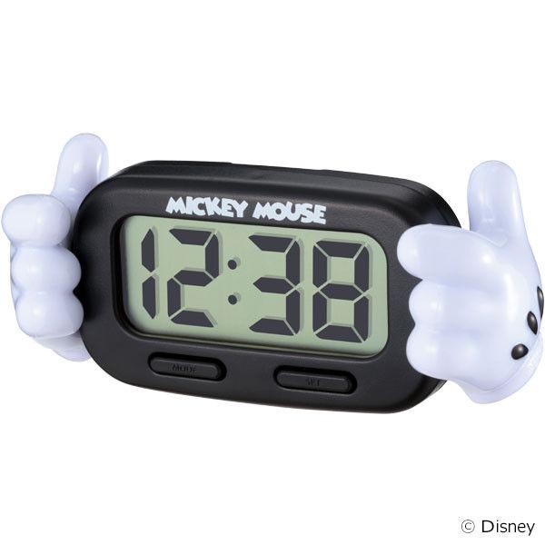 ナポレックス デジタルクロックミッキー WD-327 (取寄品)