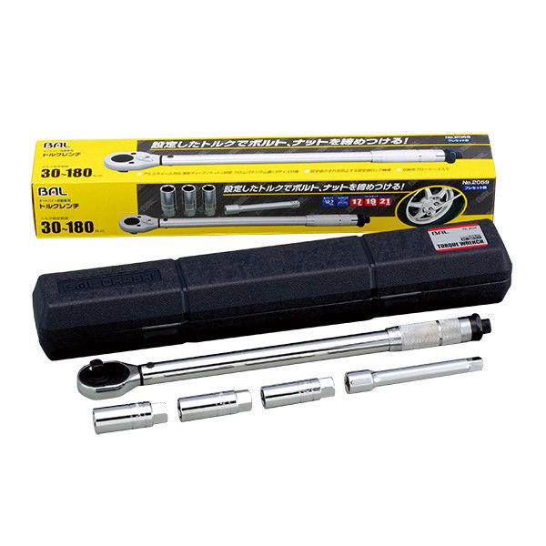 大橋産業 トルクレンチ 6pcセット 2059 (取寄品)