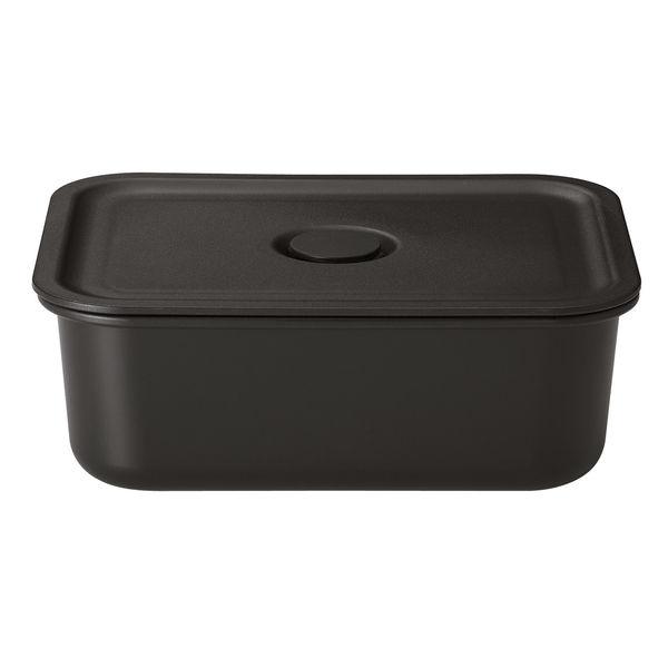 無印良品 ポリプロピレン保存容器になるバルブ付弁当箱・黒