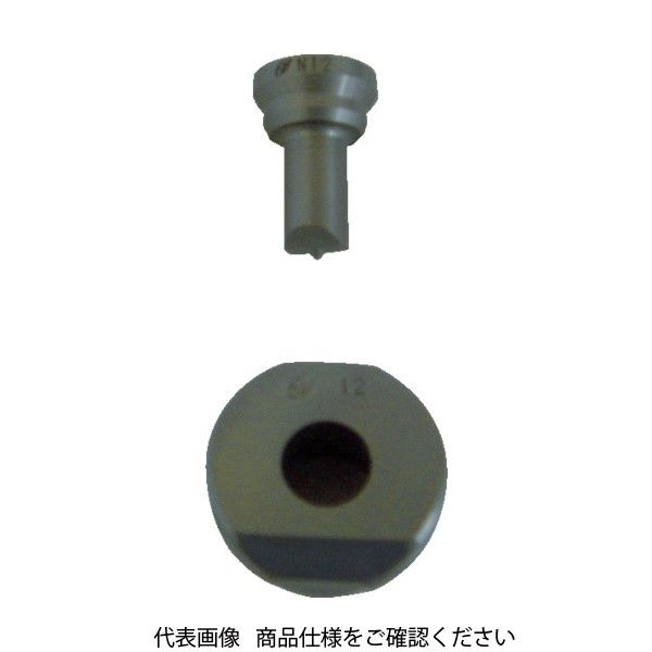 亀倉精機 亀倉 ポートパンチャー用標準替刃 穴径14mm N-14 1個 824-8297(直送品)