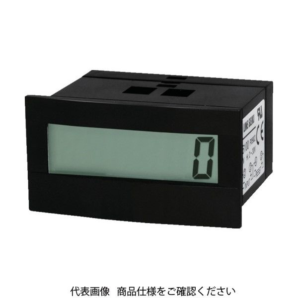 ライン精機 セルフ電源トータルカウンタ フロントリセットナシ GC2-6010 1個 828-9803(直送品)