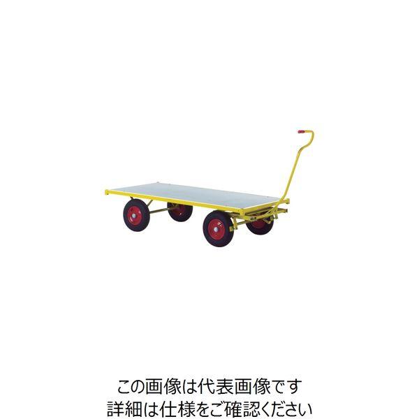 RAVENDO 大型重量運搬車 TW2000 穴なしハンドル 144105 1台 836-7730(直送品)