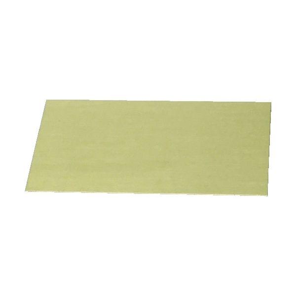 光(ヒカリ) 光 真鍮板 0.5×50×100mm YZ552 1枚 829-0678(直送品)