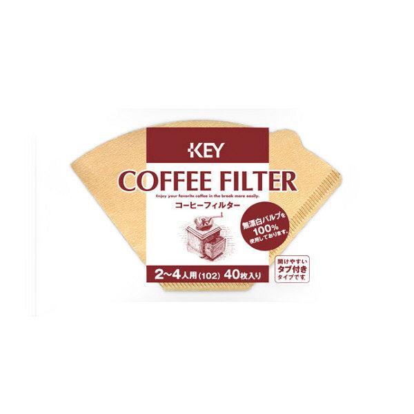 コーヒーフィルター 2~4杯用 40枚入