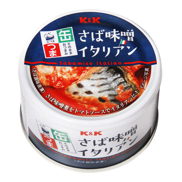KK 缶つま さば味噌イタリアン 1個