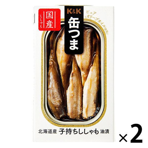 缶つまP 北海道産 子持ちししゃも 2個