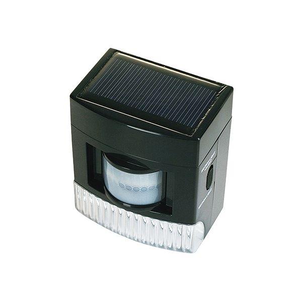 アズワン ソーラー式LED音声センサーライト PGS-032R 1個 7-3675-01(直送品)