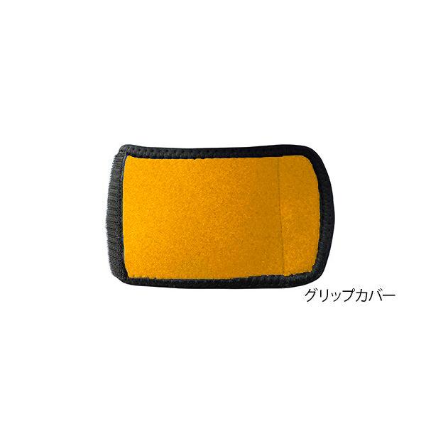 アズワン 松葉杖クッションカバー グリップカバー オレンジ 7-4634-03 1枚(直送品)