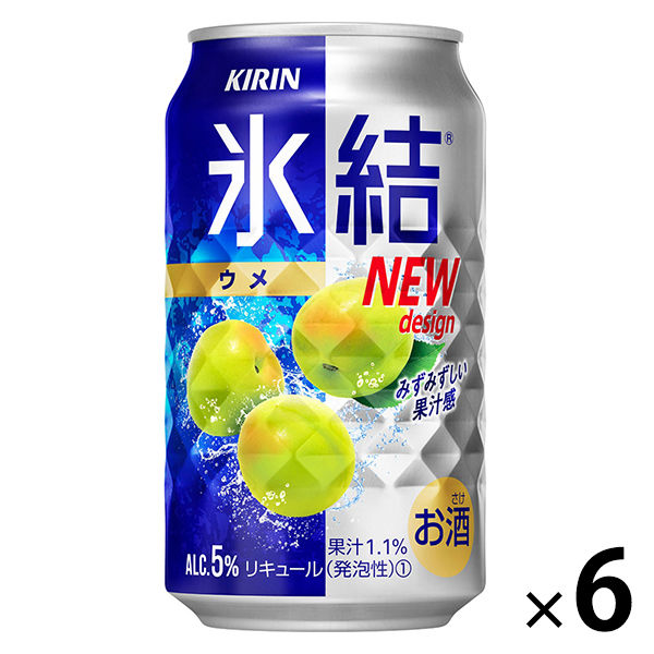 氷結 ウメ 350ml×6缶