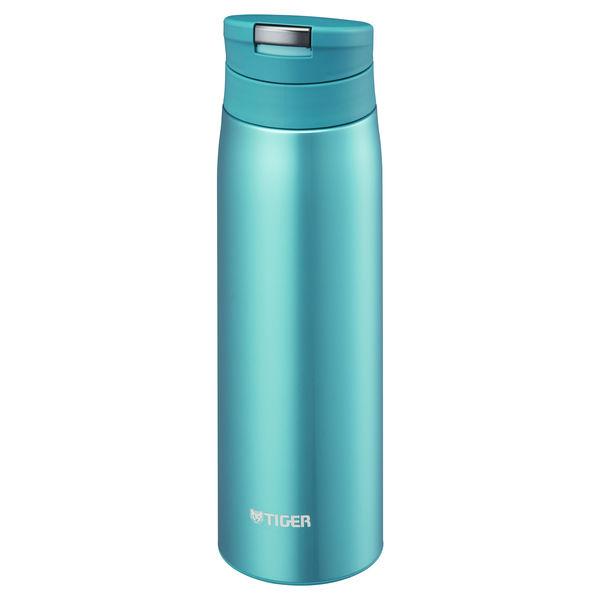 スライドプッシュボトル 0.5L 青
