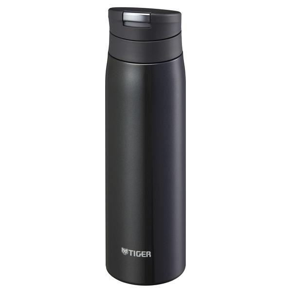 スライドプッシュボトル 0.5L 黒