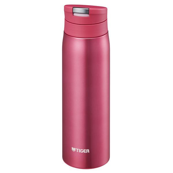 スライドプッシュボトル 0.5L ピンク