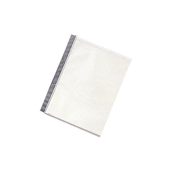 リヒトラブ ルポ・リーンフォース・クリヤーポケット(A4) 台紙有り N2008 1箱(100枚:10枚入×10袋)